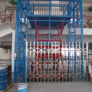 thang nâng hàng thuỷ lực 1000kg