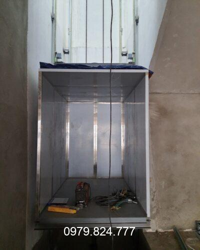 Cách lắp đặt thang tời hàng đơn giản tại nhà